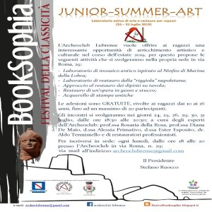 SEDE MASSALUBRENSE - JUNIOR summer art